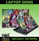 LAPTOP STICKER  MONSTER HIGH VAMPIRE WOLF ADHESIVE VINYL SKIN VARIOUS SIZES