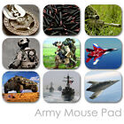 ARMY CUSTOM MOUSE PAD MILITARY GUN RIFLE LOGO PERSONALIZED MOUSEPAD  (MM-02)