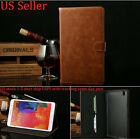 Deluxe Leather Card Flip Wallet Stand Case For Samsung Galaxy Tab Pro 8.4 T320