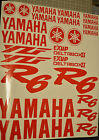 Yamaha R6 YZF 25 piece Decal Stickers Kit Colors