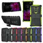 RUGGED HEAVY DUTY PHONE CASE HYBRID STAND COVER FOR G FLEX 2 H955 LS996 H950