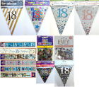 18th birthday decorations banner bunting sign garland necklace