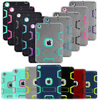 Shockproof Heavy Duty Rubber With Hard Stand Case Cover For iPad 2/3/4 iPad Mini
