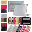 "Bling Shiny Hard Case +Silicone Keyboard Cover For Macbook 11""12""13""15"" Air Pro"