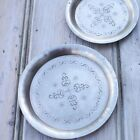 Decorative Etched Metal Dish Jewellery Trinket Storage Large or Small Coaster