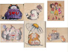 PENNY BLACK WOODMOUNTED STAMPS SELECTION OF 21 ASSORTED DESIGNS