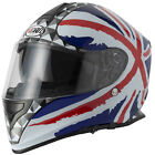 VCAN V127 DVS Full Face Scooter Motorbike Motorcycle Helmet Crash UNION JACK