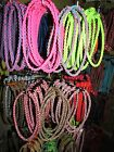 "22"" Round Braid Paracord Necklace U - Pick Color"