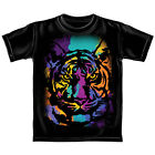 """Officially Licensed """"Animal Planet"""" Tiger 100% Cotton Short Sleeve Tee Shirt"""