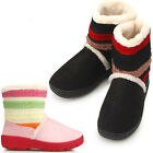 New Pretty Knit Point Winter Shearling Snow Warm Boots Girs Shoes Nova