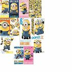Despicable Me 2 ~ Minions Birthday Card ~ Wrapping Paper ~ NEW