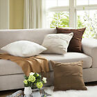 New Home Decor Sofa Bed Knitted Pillow Cushion Twisted Stripes 45x45cm 3 Colour
