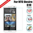 For HTC Desire 610 New Premium Tempered Clear Glass Screen Protector Film