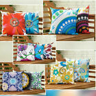 Waterproof Canvas Outdoor Cushions Water Resistant Scatter Garden Furniture Pads