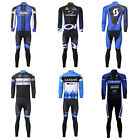 New Bicycle Bike Rider Motorcycle Long Sleeve Cycling Jersey Suit T-shirt Pants