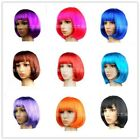 Short Straight Wig Fashion Women BOBO Cosplay Wigs F Play Mannequins Halloween