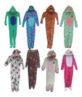 Kids, Girls, Boys Primark Fleece Sleepsuit, All In One Pyjamas, Pyjama Set,