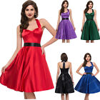 SUMMER 50s Vintage Style Retro Pinup Swing Housewife Prom Party Dress