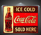 Coca Cola Coke Vintage CANVAS Art Print - A0 A1 A2 A3 A4 £35.0  on eBay