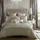 Kylie Minogue at Home Alexa Silver Bed Linen.. FREE SHIPPING TO UK, EUROPE &USA