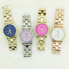 Simple Color Dial Watches Women Fashion Gold Silver Geneva Watch Japan Movement