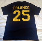 Pittsburgh Pirates Gregory Polanco Baseball distressed t shirt