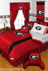 Georgia Bulldogs Comforter Sham Bedskirt Valance Twin Full Queen King Size