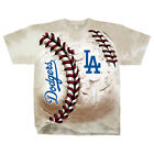 Official MLB Los Angeles Dodgers Hardball Unique Tie-dye T-shirt FREE SHIPPING on Ebay