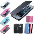 Hot Magnetic Leather Flip Hard Case Cover Skin For Apple iPhone Samsung GalaCase