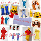 NEW Unisex Adult Animal Pajamas Kigurumi Cosplay Costume Onesie Sleepwear Robe