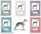 Whippet Notebook by Curiosity Crafts NEW* Choice of Colours