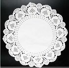 "6.5"" Inch White Round Paper Lace Doilies for Cardmaking & Scrapbooking"