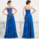 PLUS 20-26 Vintage Long Masquerade Bridesmaid Prom Party Ball Gown Evening Dress