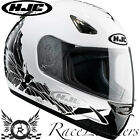 HJC CS-14 COCO WHITE FULL FACE MOTORCYCLE MOTORBIKE BIKE HELMET