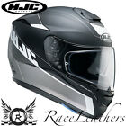 HJC R-PHA ST TWOCUT BLACK GREY FULL FACE MOTORCYCLE MOTORBIKE BIKE HELMET