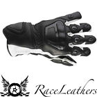 RAYVEN IMOLA BLACK WHITE WATERPROOF MOTORCYCLE MOTORBIKE SPORTS GLOVES