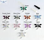 Phone DS Ipod Ipad Anti Dust Plug  - Rhinestone Dragonfly Charm - Earphone Jack
