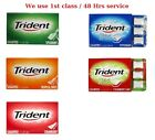 Trident Splash Soft Sugar free Chewing Gum Choose 1, 2, 3, 6 or 12 packs