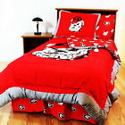 Georgia Bulldogs Comforter Sham & Blanket Twin Full Queen King Size