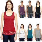 Anvil Ladies Triblend Racerback Tank Top T Shirt Womens Tee XS-2XL 6751L