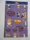 World's Greatest Cat Lover purple gift wrap 2 sheets & 2 tags Funny side of life