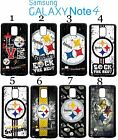 Pittsburgh Steelers Samsung Galaxy Note 4 Case Hard Silicone Case #