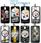 Pittsburgh Steelers Samsung Galaxy Note 3 Case Hard Silicone Case #