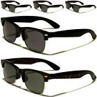 NEW SUNGLASSES POLARIZED BLACK DESIGNER MENS LADIES WAYFARER CLUBMASTER RETRO