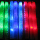 60X Light-Up Foam Sticks LED Flash Rave Cheer Tube Glow Baton fr Wedding Party