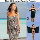 Saress MANHATTAN Beachdress CoverupSwimwear Bikini Wrap Sarong Dress