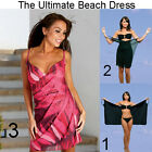 Saress CERISE Beachdress Coverup Swimwear Bikini Wrap Sarong Dress