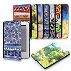 ART STYLE THIN PU LEATHER CASE COVER FOR NEW KINDLE WITH TOUCH or PAPERWHITE
