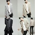 Autumn British Style Fashion Mens Slim Fit Cardigan Sweaters Capes Plus Gloves