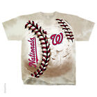 Official MLB Washington Nationals Hardball Tie-dye T-shirt Men's on Ebay